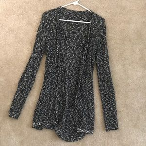 Brandy Melville long speckled cardigan